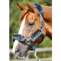 PREMIER-EQUINE-MERINO-WOOL-HEAD-COLLAR-SET-GREY