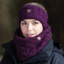 SPECIAL-OFFER-RRP-1150-EQUETECH-CABLE-KNIT-HEADBAND-BERRY