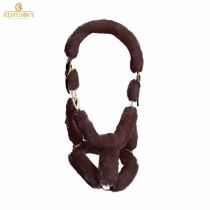 KENTUCKY-SHEEPSKIN-SHIPPING-HEAD-COLLAR-BROWN