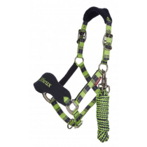 LE-MIEUX-SIGNATURE-HEADCOLLAR--LEADROPE-SET-LIME-GREEN