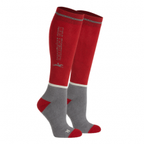SCHOCKEMOHLE-SPORTY-WINTER-AW17-SOCKS-RED-SIZE-3641
