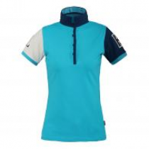 SALE-KINGSLAND-SS17-TERMINE-LADIES-POLO-SHIRT-BLUE-RRP-5900