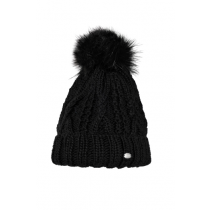 PIKEUR-AW17-BOBBLE-HAT-BLACK