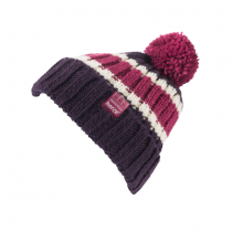 HORZE-AW17-STRIPED-KNITTED-HAT-PINK