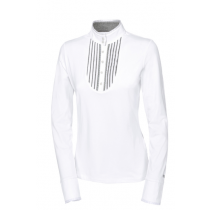 PIKEUR-AW17-LYA-LONG-SLEEVED-SHOW-SHIRT-WHITE