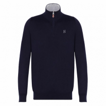 HARCOUR-AW17-GASPARD-PULLOVER-NAVY
