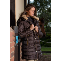 MARK-TODD-AW17-LADIES-DELUXE-LONG-PADDED-COAT-CHOCOLATE