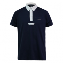 HARCOUR-SS18-ROBIN-TECHLINE-GENTS-POLO-NAVY