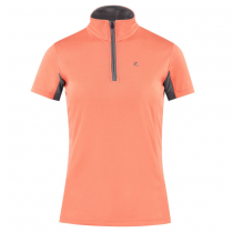 HORZE-TRISTA-WOMENS-SHORT-SLEEVED-SHIRT-TANGERINE