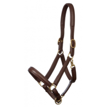 LE-MIEUX-SOFT-LEATHER-HEADCOLLAR-BROWN