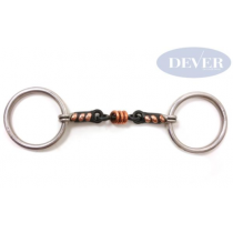 DEVER-LOOSE-RING-SEET-IRON-SNAFFLE-WITH-COPPER-PLAYERS