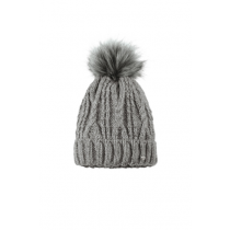 PIKEUR-AW18-BOBBLE-HAT-GREY