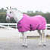 HORZE-AW-18-PONY-FLEEC-RUG-HOT-PINK