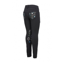 SALE-MONTAR-SS18-CHILDS-BREECHES-BLACK-WITH-STARS-RRP-6999
