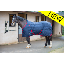 GALLOP-EQUESTRIAN-DEFENDER-STABLE-RUG-200-GRAM-NAVYRED