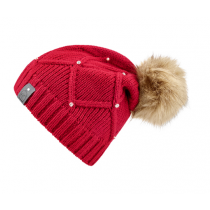 CAVALLO-AW18-LIBBY-KNITTED-HAT-RED