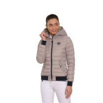 SPOOKS-AW18-JANA-QUILTED-BOMBER-JACKET-TAUPE