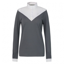 SALE-WAS-6500-NOW-4550-HARCOUR-AW18-ALTAIR-LADIES-TECHLINE-COMPETITION-TOP-GREY