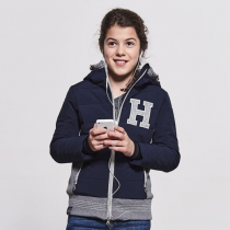 SALE-HARCOUR-AW18-CHILDS-NUNKI-PADDED-JACKET-NAVY-RRP-7500