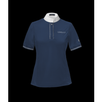 CAVALLO-SS19-MAGNOLIA-LADIES-SHOW-SHIRT-NAVY
