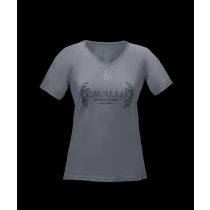 CAVALLO-SS19-LADIES-MADITA-V-NECK-TOP-GREY