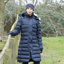NEW--EQUETECH-AW19-ALPHA-LONG-QUILTED-COAT-MIDNIGHT-NAVY