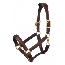 LE-MIEUX-ANATOMIC-LEATHER-HEADCOLLAR-BROWN
