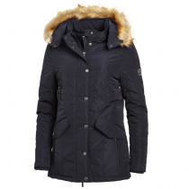 SPECIAL-OFFER--SCHOCKEMOHLE-AW19-DOREEN-LADIES-PARKA-STYLE-COAT-NAVY-RRP21995