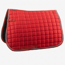 HORZE-CHICAGO-SADDLE-PAD-ALL-PURPOSE-RED-AND-GREY