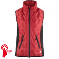 HORZE-SHELLY-WOMENS-LIGHT-PADDED-VEST-RED-AND-BLACK