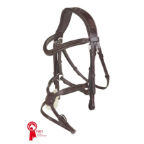 PESSOA-GRACKLE-BRIDLE-WITH-SOFT-GRIP-REINS-BROWN