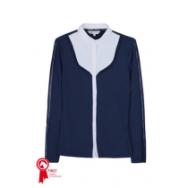 HARCOUR-ELISABETH-LONG-SLEEVED-COMPETITION-SHIRT-NAVY