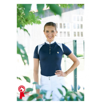 COVALLIERO-LADIES-SHOW-SHIRT-NAVY