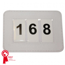 WOOF-SADDLE-CLOTH-NUMBER-HOLDER-IN-WHITE
