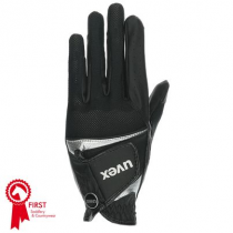 UVEX-SUMAIR-GLOVES-BLACK-AND-SILVER