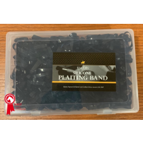 LINCOLN-SILICOLN-PLAITING-BANDS-BOX-OF-1000-BLACK