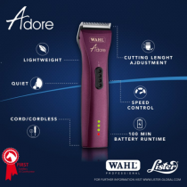WAHL-PROFESSIONAL-CORDLESS-ADORE-TRIMMERS