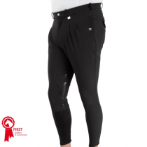 HY-HARROGATE-MENS-BLACK-BREECHES-WITH-SILICONE-KNEE