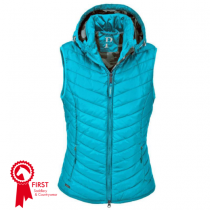 SALE-PIKEUR-LADIES-LIBELL-QUILTED-WAISTCOAT-CARIBBEAN-RRP-13295