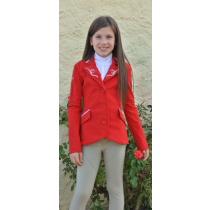 FOR-HORSE-POLLY-CHILDS-SHOW-JACKET-REDSILVER