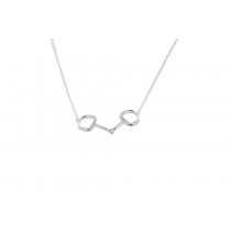 SINGLE-SNAFFLE-NECKLACE-IN-SILVER