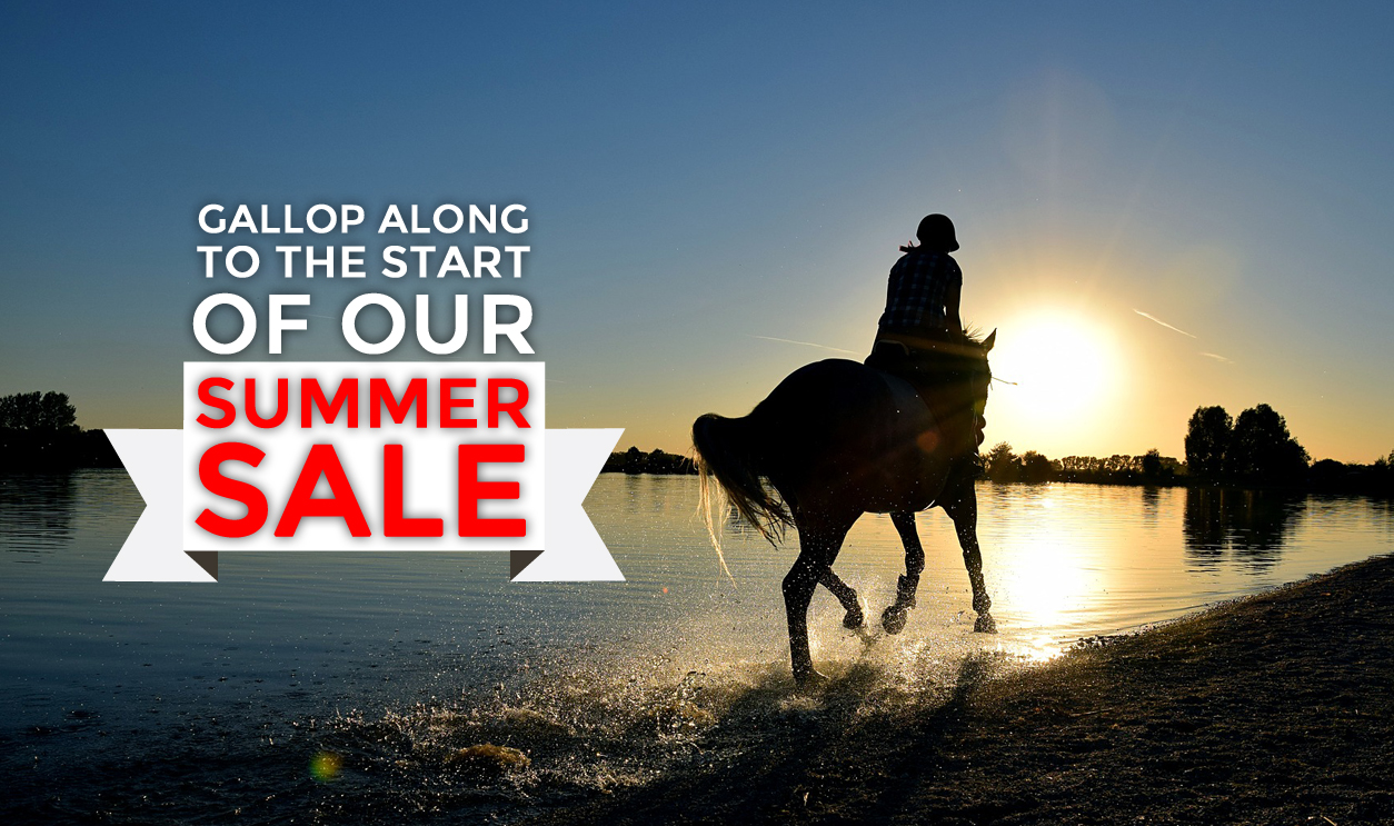 First Saddlery Summer Sale